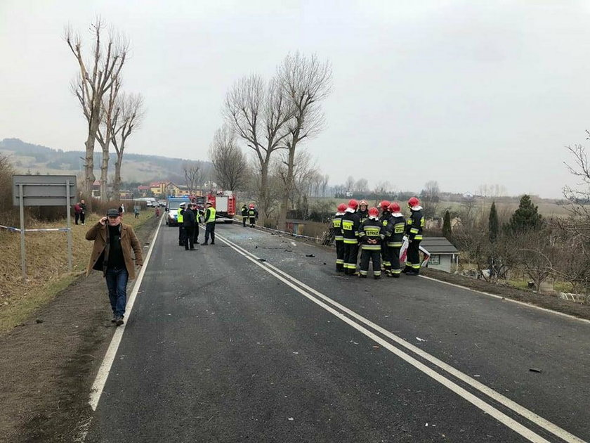 Dramat na Dolnym Śląsku. 11 osób rannych
