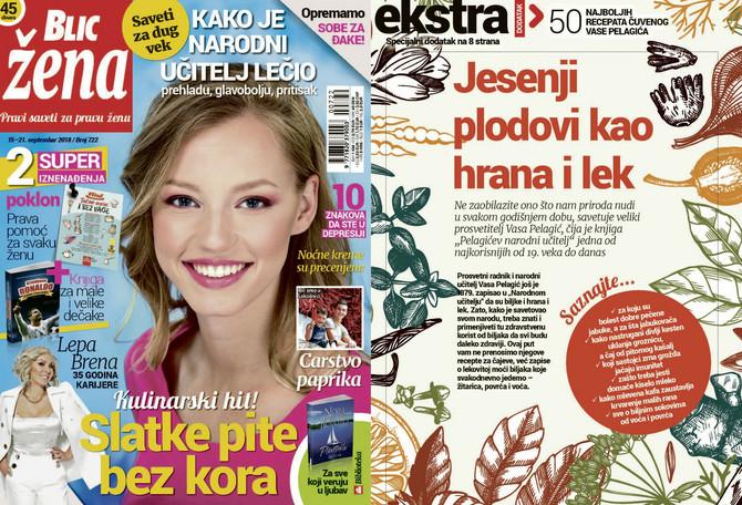 "Nova ""Blic žena"" od subote 15. septembra na kioscima"