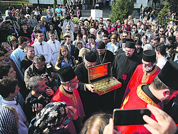 U subotu, 3. oktobra, mošti će biti prenete u Ivanjicu, gde će u Žičkoj eparhiji ostati do 11. novembra
