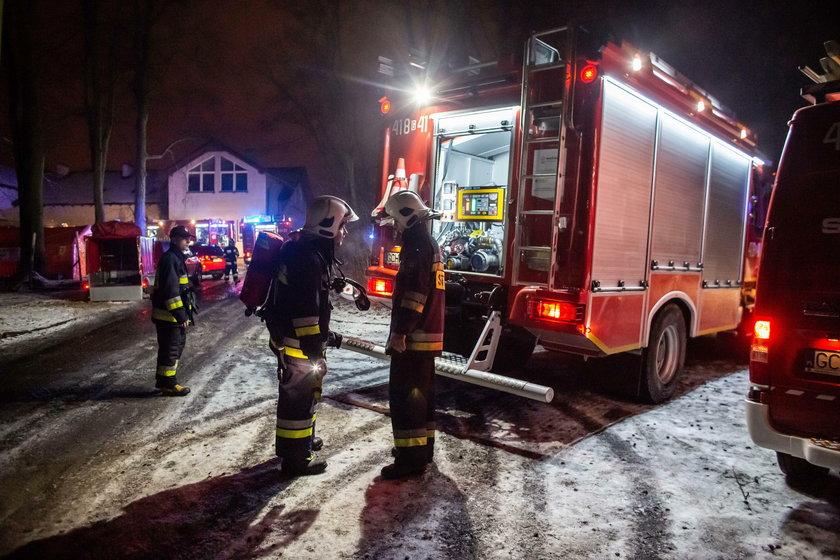 Tragiczny pożar hospicjum w Chojnicach