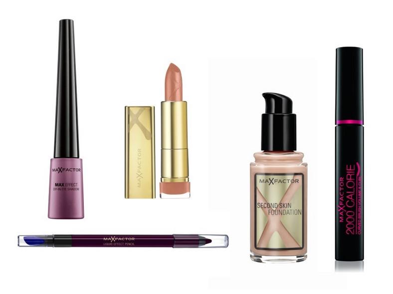 Kosmetyki Max Factor wykorzystane w makijażu Olgi Kaczyńskiej