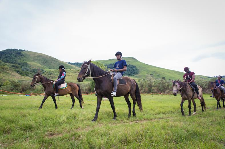 Horse Riding at Drakensberg Sun Resort