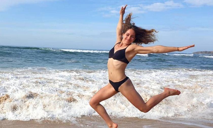 Justyna Iskrzycka należy do najpiękniejszych sportmenek, które startują w Tokio
