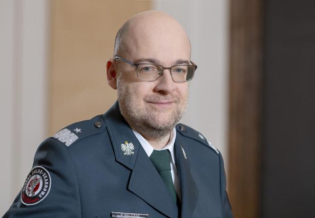 nadinspektor Piotr Walczak (KAS)