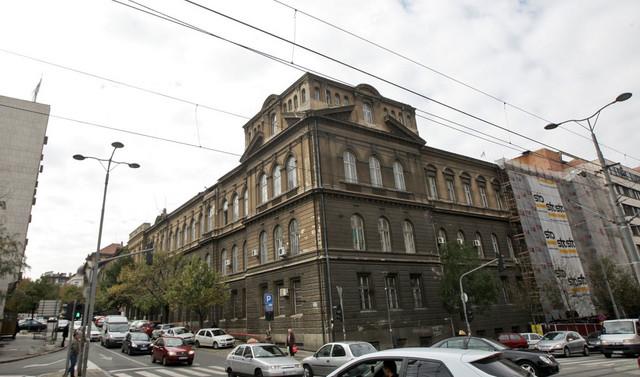 Zgrada na uglu Nemanjine i Resavske