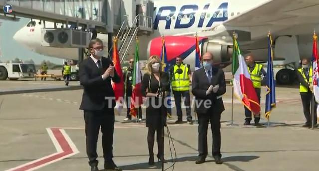 Pomoć iz Srbije je stigla u Italiju