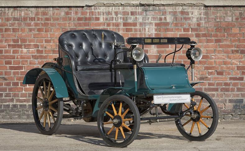 Patentmotorwagen System Lutzmann