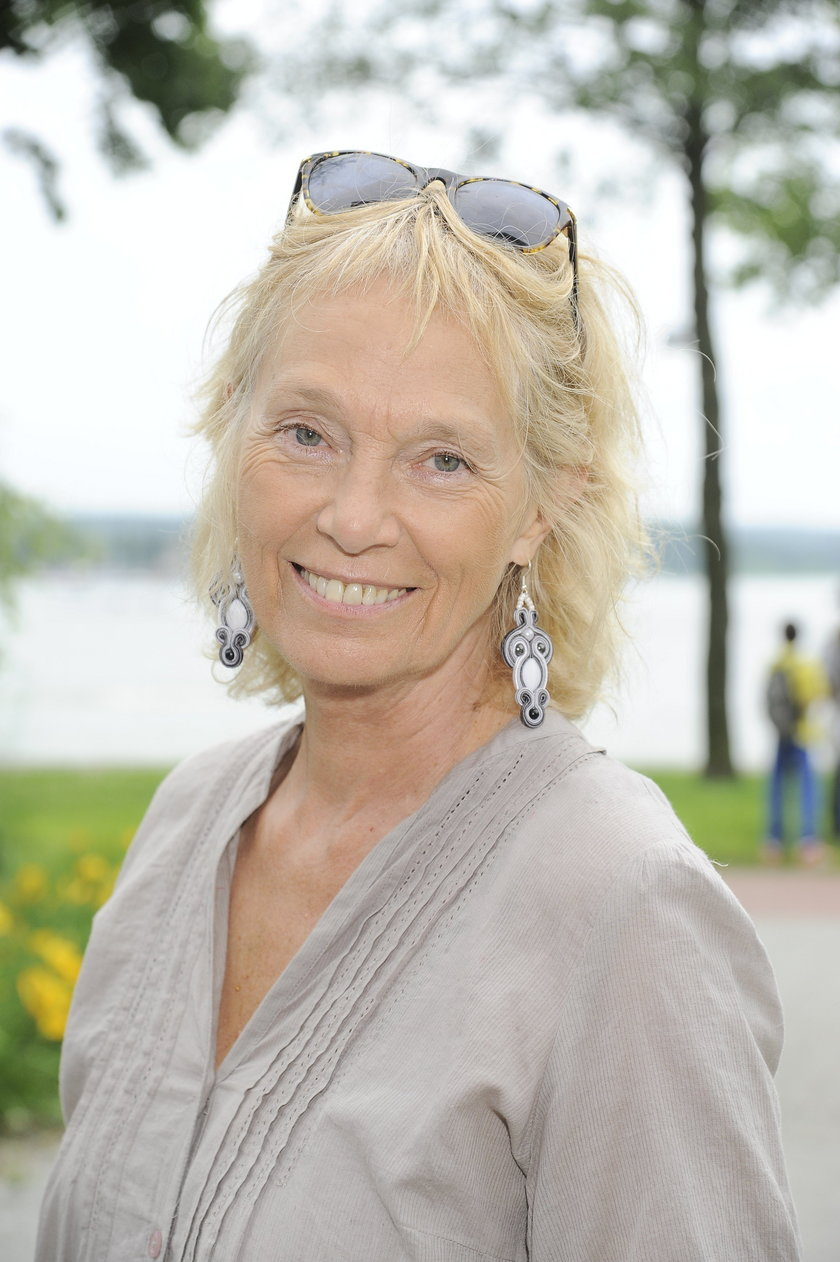 Małgorzata Braunek przed chorobą