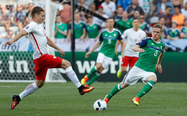 Fudbalska reprezentacija Poljske, Fudbalska reprezentacija Severne Irske