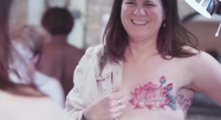41 Pięknych Tatuaży Które Ukrywają Blizny Po Usunięciu Piersi