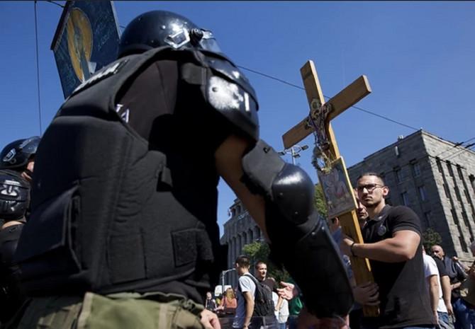 Slika sa današnje Parade ponosa u Beogradu