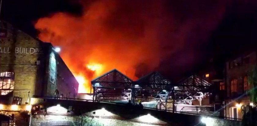 Wielki pożar w Londynie. Na miejscu 70 strażaków