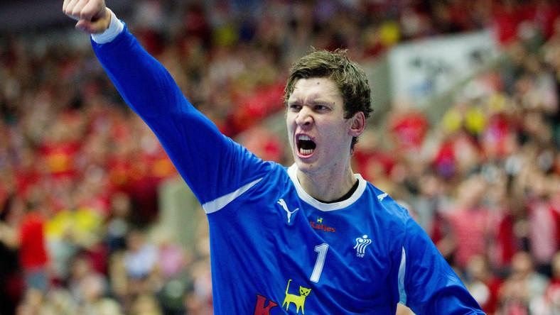 Bramkarz reprezentacji Danii Niklas Landin