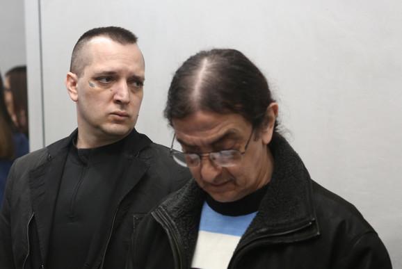 Zoran Marjanović na sudjenju u palati pravde