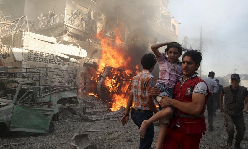 Syria w wojennej pożodze