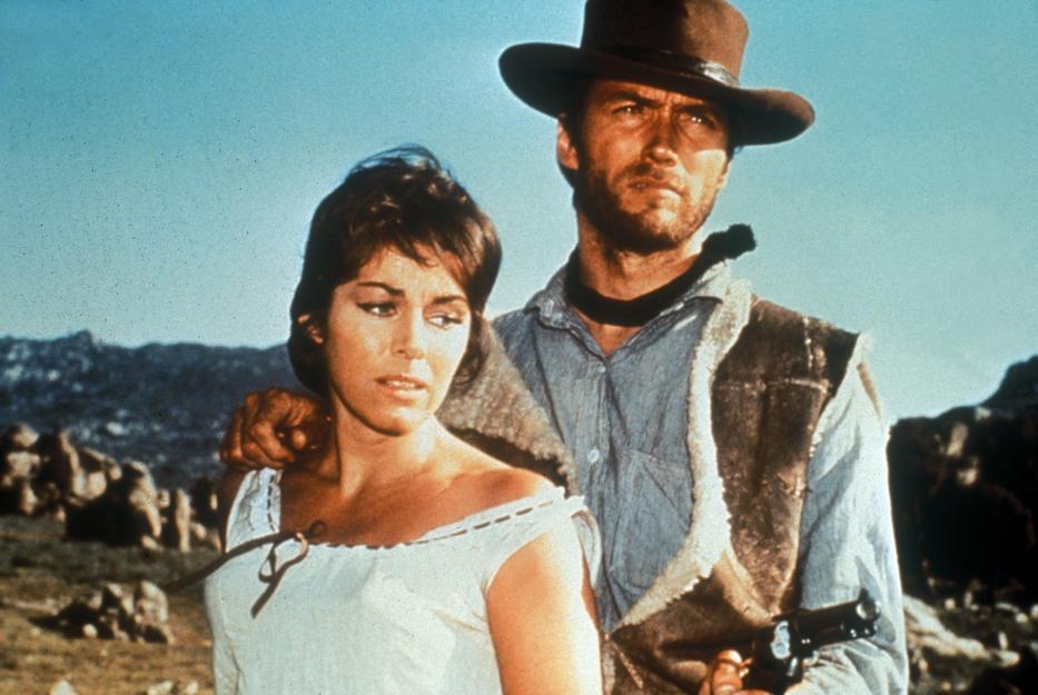 Jelenet az Egy maréknyi dollárért című westernből (Fotó: RAS-archív)