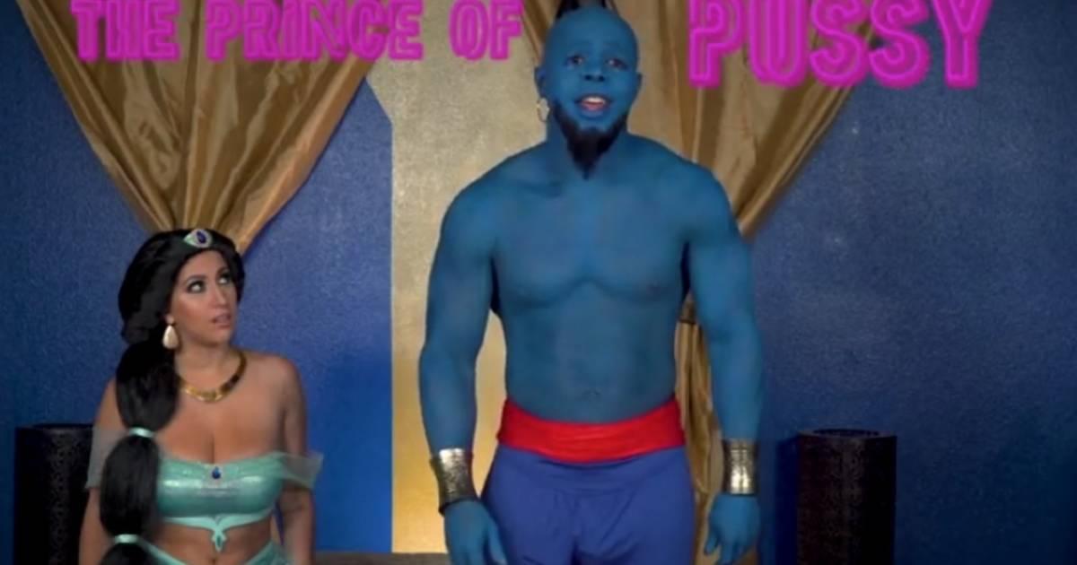 """Aladdick"": Disneys ""Aladdin"" gibt's jetzt als Porno-Parodie"