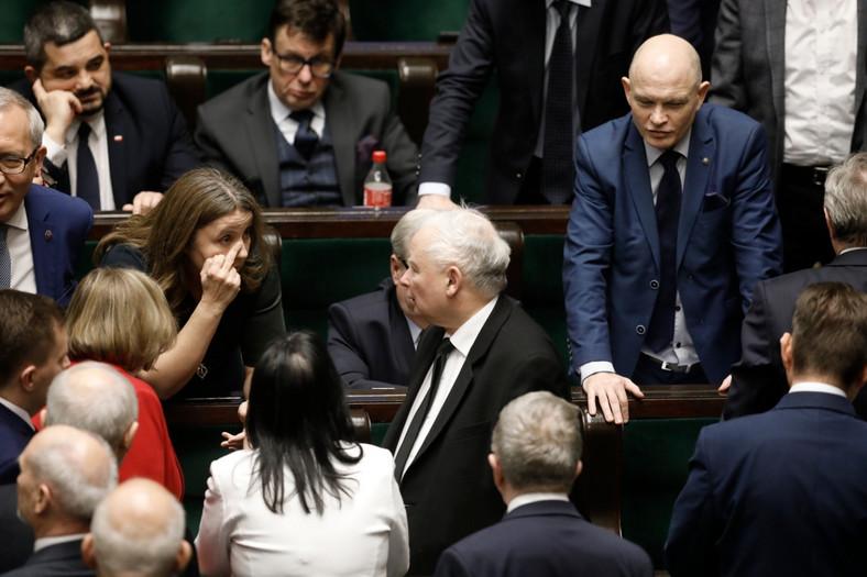 Joanna Lichocka tłumaczy się Jarosławowi Kaczyńskiemu