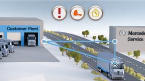 Mercedes podłącza ciężarówki do internetu