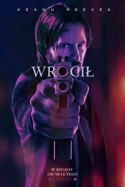 """John Wick 2"": plakat"