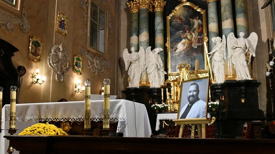 Msza żałobna za Dariusza Gnatowskiego