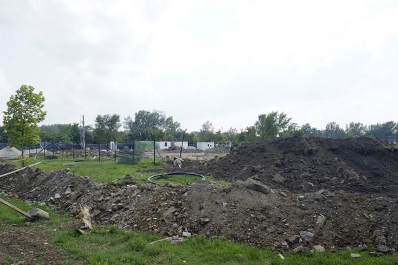 Privremeno zatvoreno gradilište