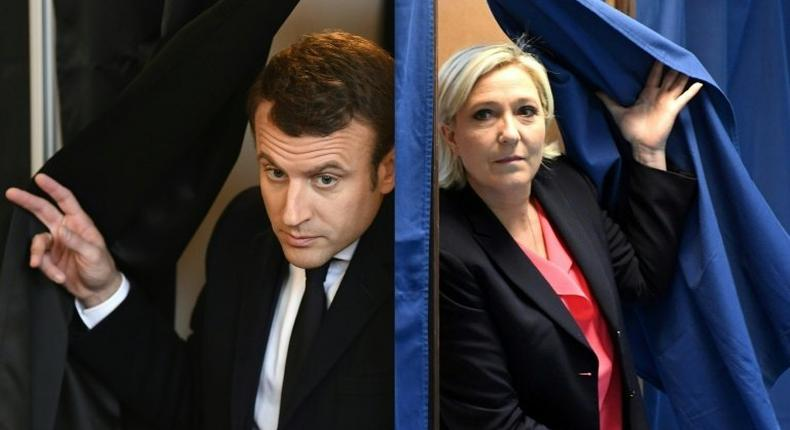 Presidential election candidates Emmanuel Macron and Marine Le Pen have radically different visions for France