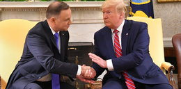 Donald Trump o wizycie w Polsce: Lubię ten naród