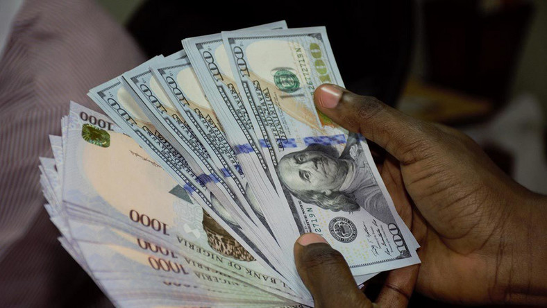 Naira to dollar rate in Nigeria