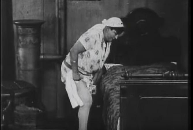 Žanka Stokić u prvom srpskom porno filmu