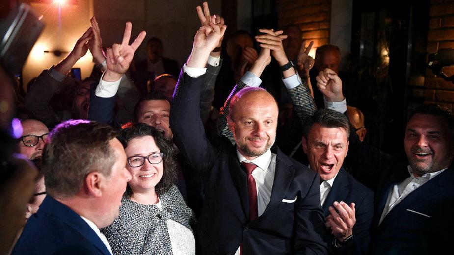 Konrad Fijołek uzyskał 56,51 proc. ważnie oddanych głosów