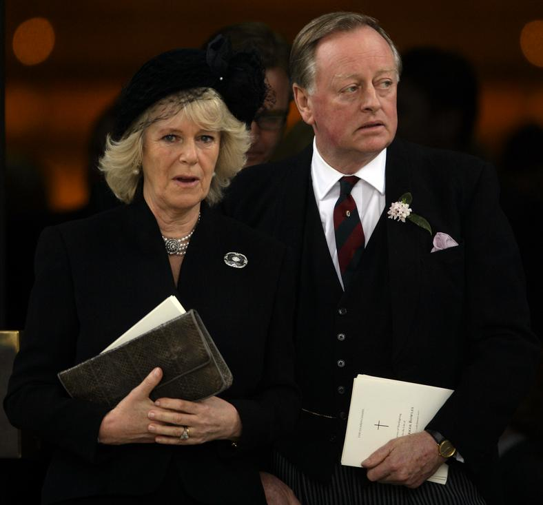 Camilla Parker-Bowles, Andrew Parker-Bowles