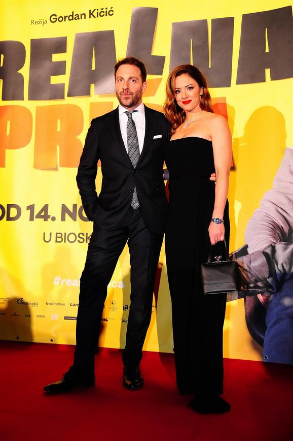 Gordan Kičić sa suprugom Zoranom