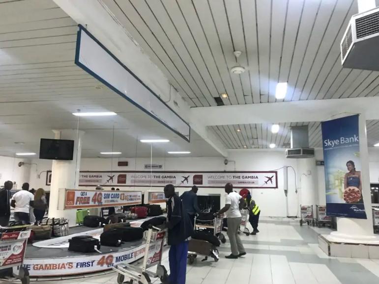 Gambian airport