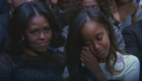 Mišel i Malija Obama