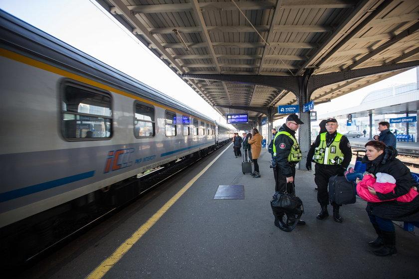 Remont trasy kolejowej Poznań-Warszawa