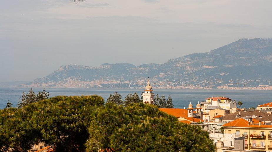 Bordighera w okolicach San Remo. To tu wymyślono majowe święto włoskich mam