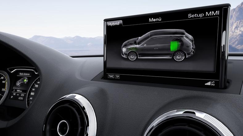 Inżynierowie Audi wierzą, że najlepszym sposobem na zmniejszenie zużycia paliwa i najlepszym napędem przyszłości jest połączenie jednostki spalinowej z silnikiem elektrycznym. Efekt?