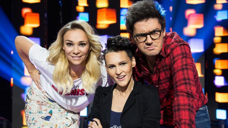 """Jury programu """"Mali Giganci 3"""": Sonia Bohosiewicz, Agnieszka Chylińska i Kuba Wojewódzki"""