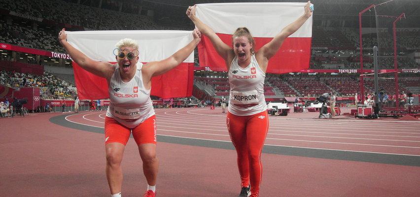 Piękne chwile w Tokio. Włodarczyk i Kopron odebrały olimpijskie medale
