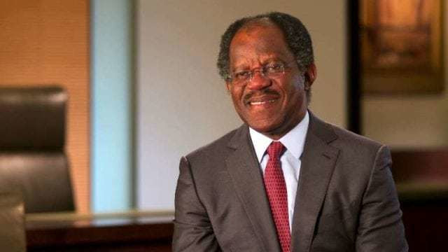 Adebayo Ogunlesi, investment banker and Chairman, Global Infrastructure Partners (GIP)