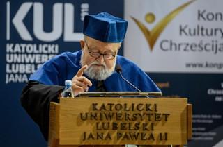 Krzysztof Penderecki doktorem honoris causa KUL