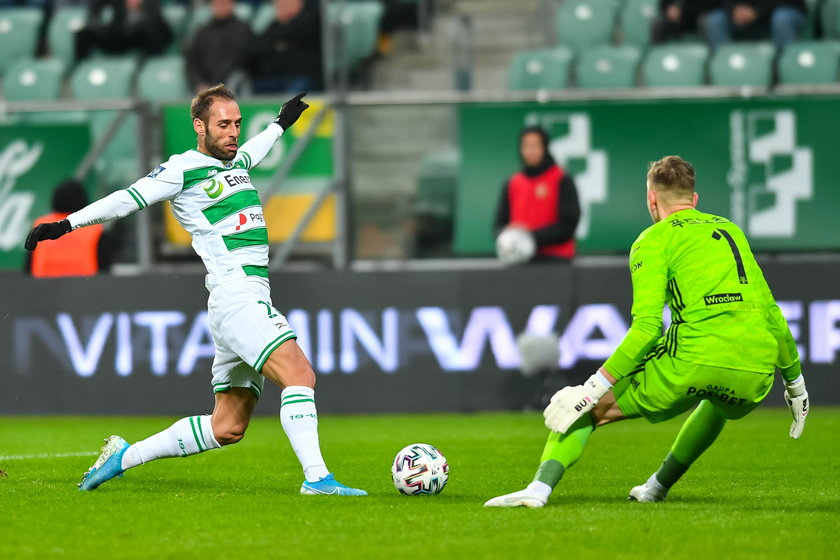 Ekstraklasa: Śląsk Wrocław zremisował z Lechią Gdańsk 2:2