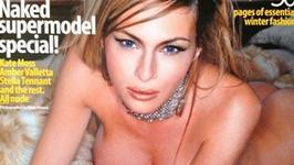 Melania Trump na okładce GQ sprzed lat. Pierwsza naga dama USA?