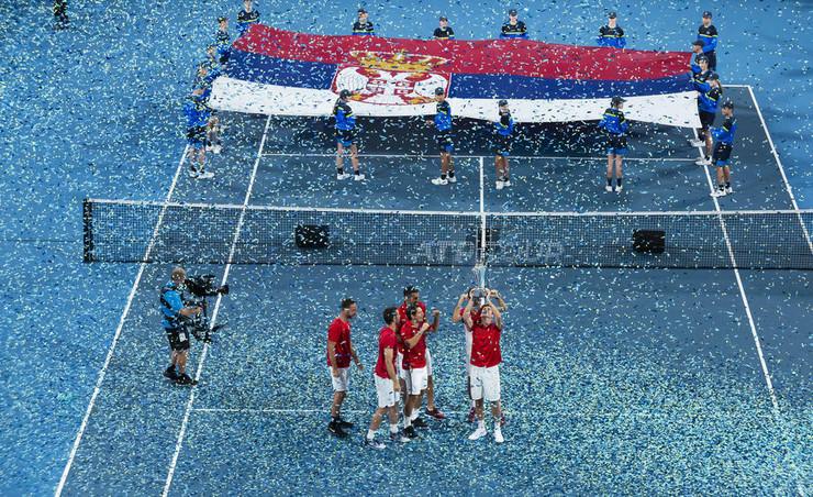 Srpski teniseri nakon osvajanja ATP kupa