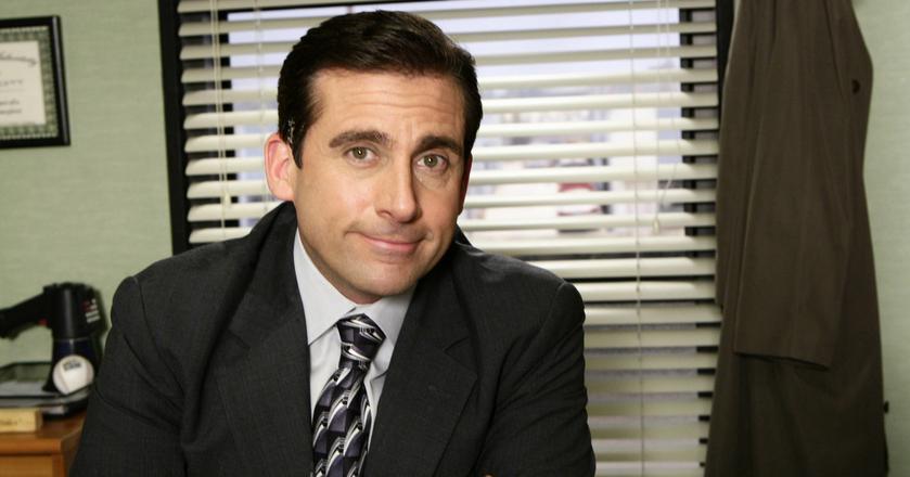 """Michael Scott, popularny szef serialu """"The Office"""", który pracownikom m.in. wyprawiał urodziny"""