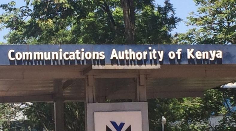 Communications Authority of Kenya.