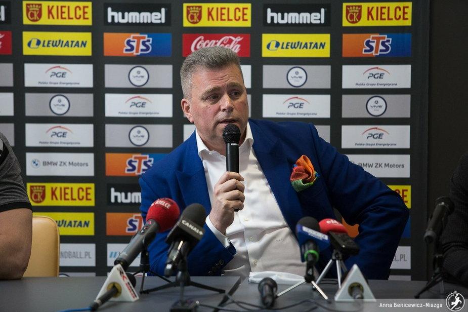 Bertus Servaas zdradził termin prezentacji nowego sponsora tytularnego