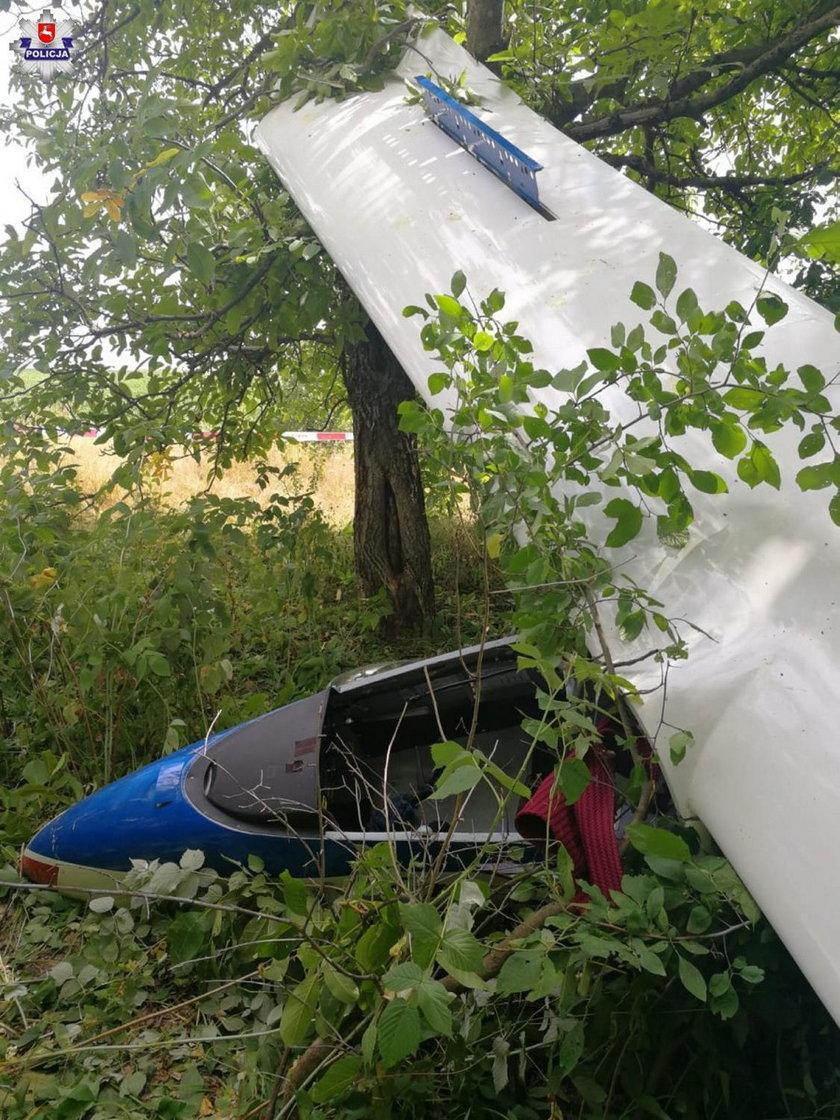 Radawiec: zderzenie dwóch szybowców, ranna 18-latka