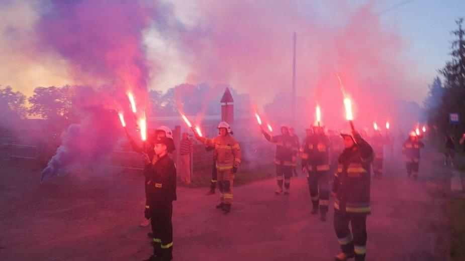 Tak cieszą się strażacy